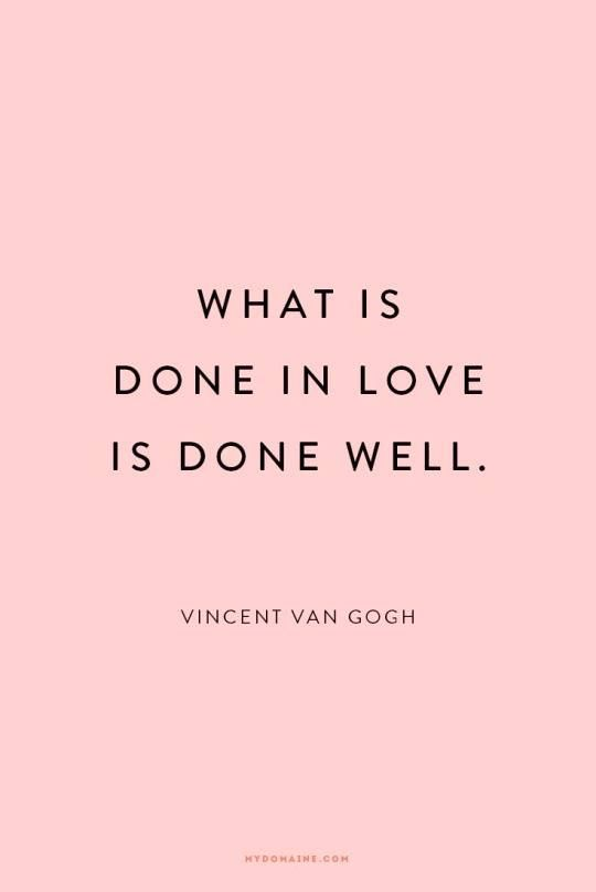 What Is Done In Love Quotes And Stuff Pinterest Frases