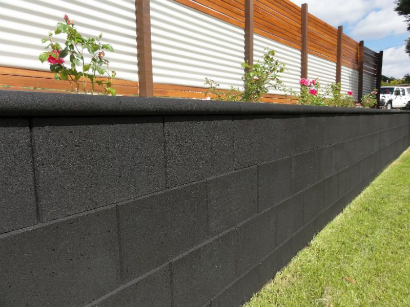 Island Block Paving With Images Cinder Walls