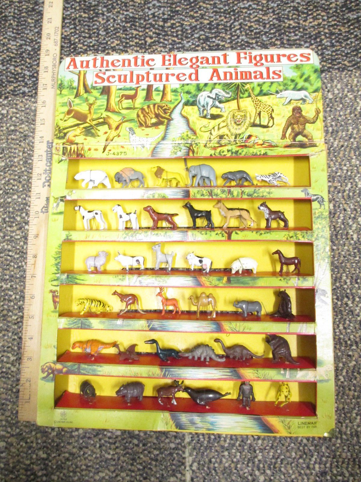 Dinosaurs Mdf Toy Box Childrens Storage Toys Games Books: Details About Marx 1950s Elegant Miniatures Disneykins