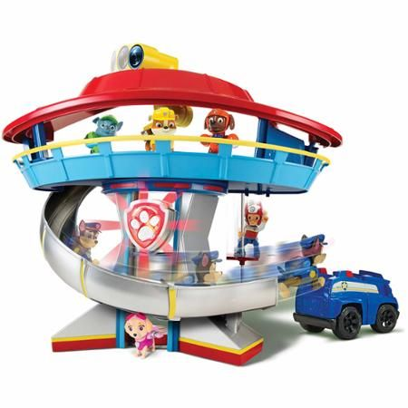 Nickelodeon Paw Patrol Look Out Playset Vehicle And Figure