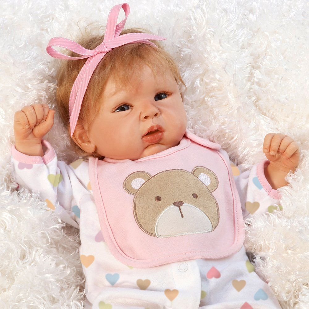 8c851e7fac09 Amazon.com  Paradise Galleries 19 inch Baby Doll That Looks So Truly  Realistic   Lifelike Baby Doll