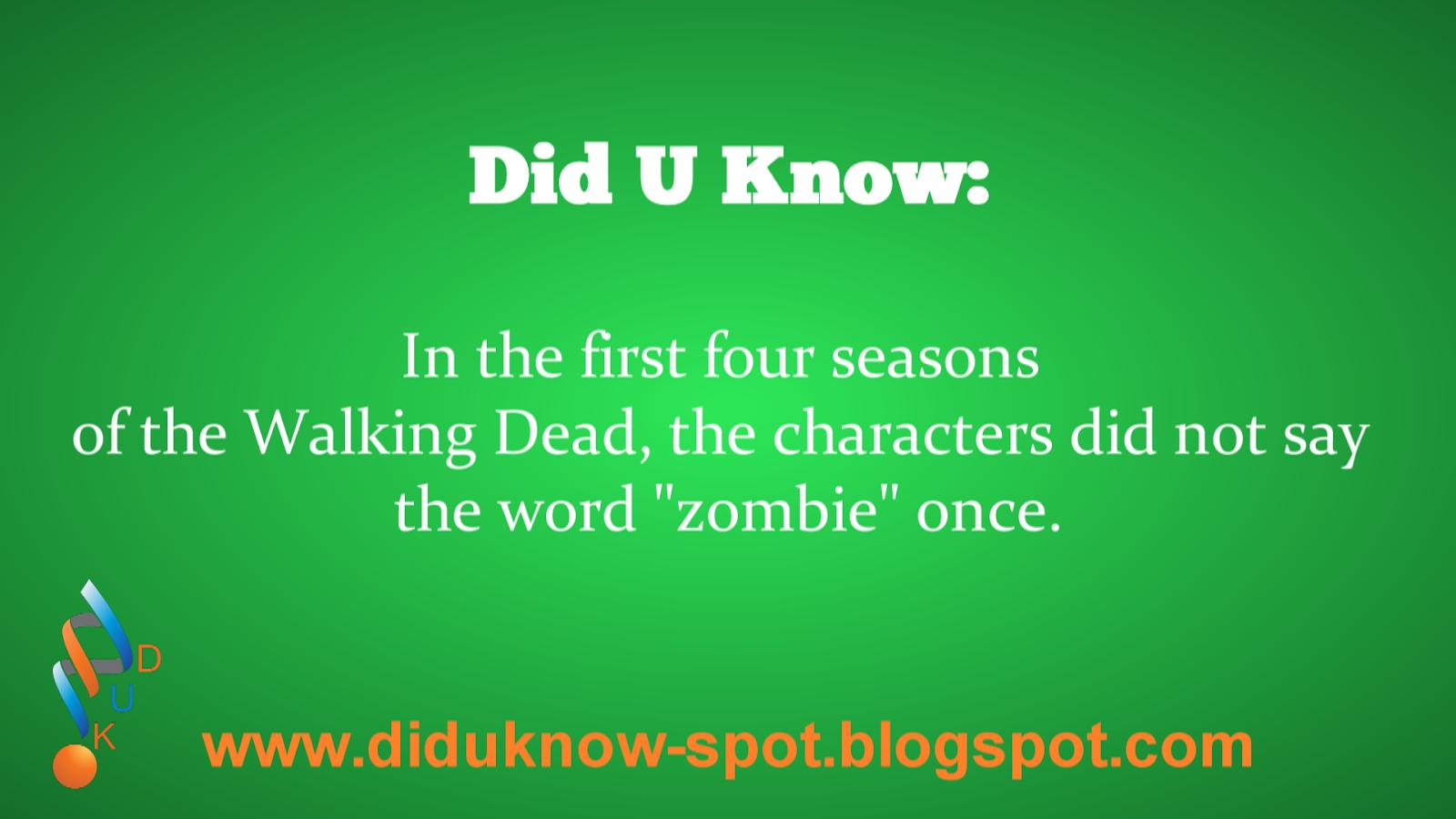 The Walking Dead Fact
