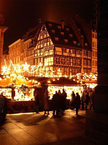 Strasbourg Christmas market.