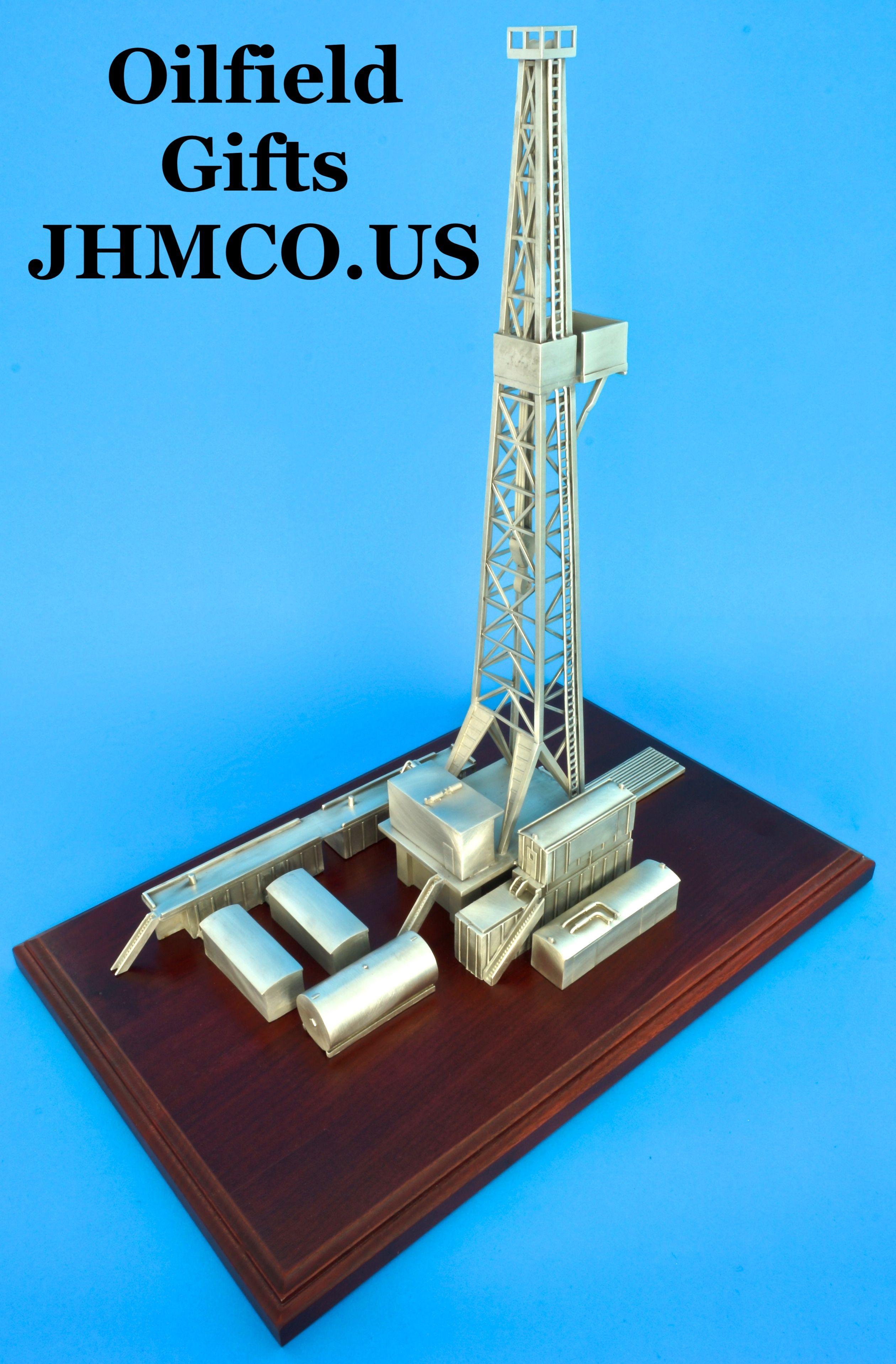 Oilfield Drilling Rig Model Makes A Wonderful Award Or Gift John H Martin Company Since 1937