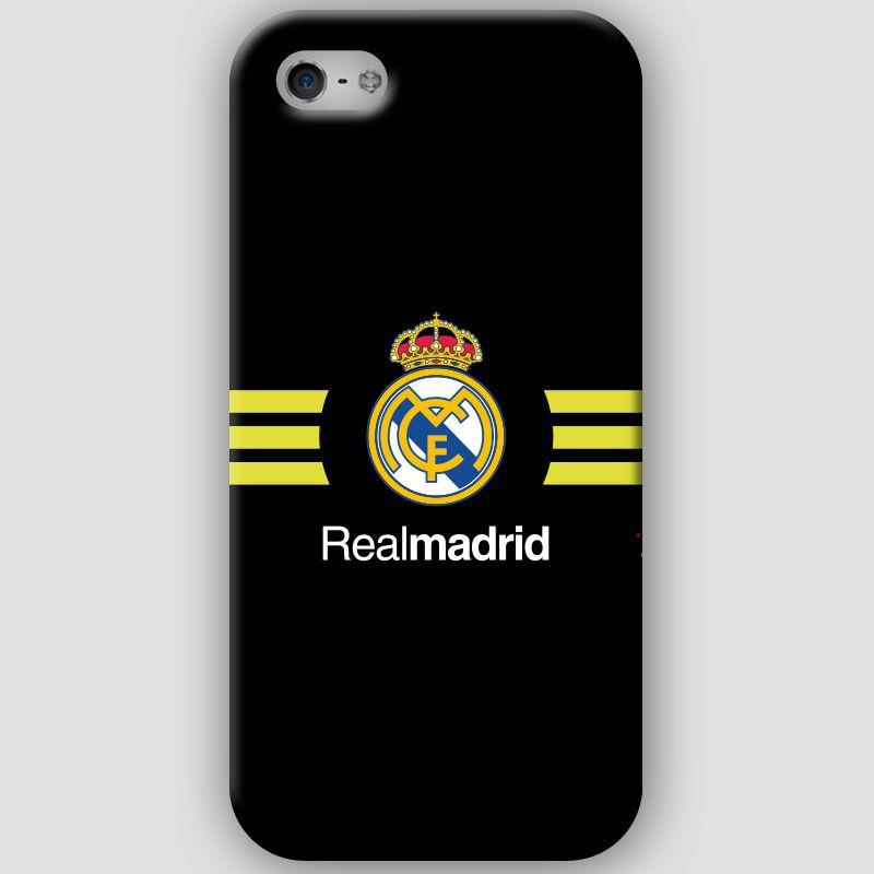 Fundas para iPhone 4-4s-5-5s, con diseños del Real Madrid CF. Materiales policarbonato semiflexible y  color negro y rayas amarillas Puedes ver más detalles y Comprar con envió gratis en: http://www.upaje.com/shop/fundas-moviles/real-madrid-cf-iphone-5-5s/ #fundas #carcasas #iphone4 #iphone4s #iphone5 #iphone5s #realmadrid # negro