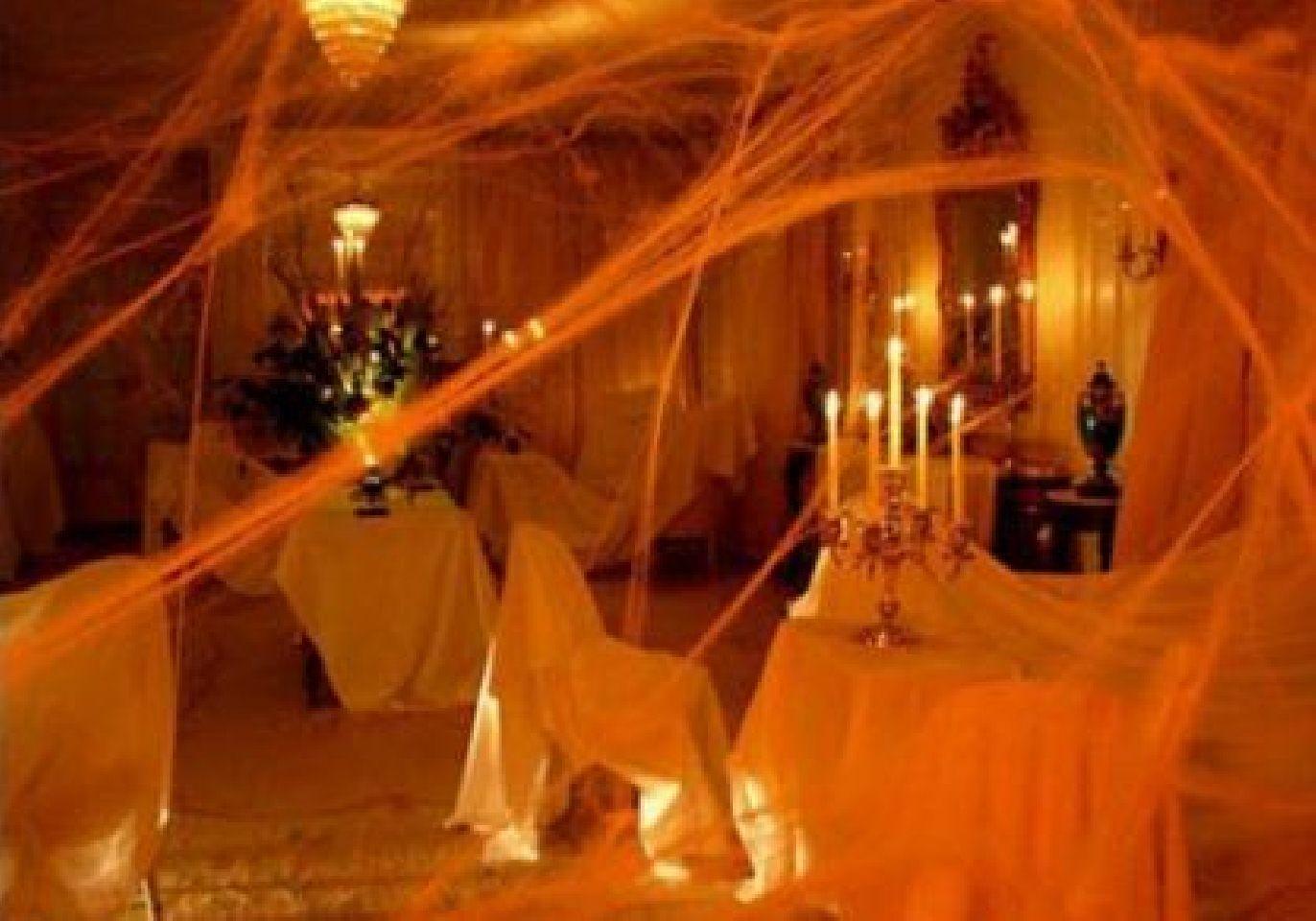 Image detail for -Halloween Living Room interior design Decoration - halloween house decoration ideas
