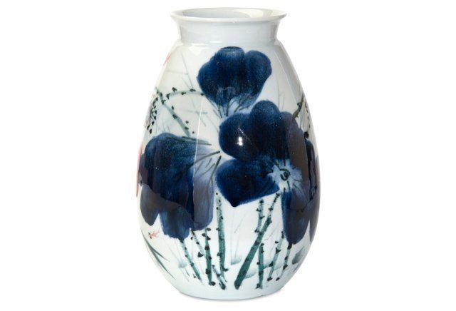 "15"" Three Color Glazed Vase $195"
