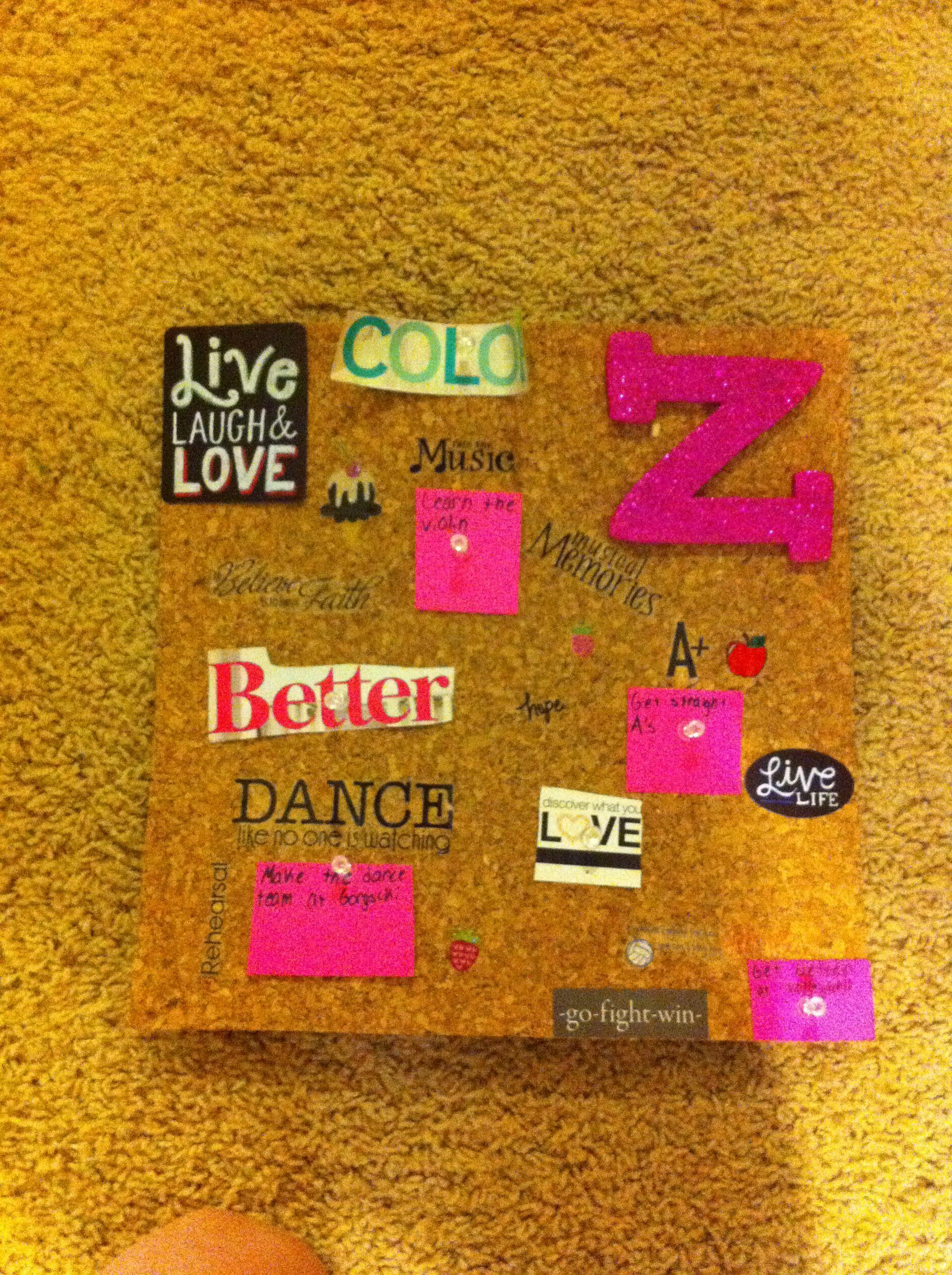 Cute wish board!