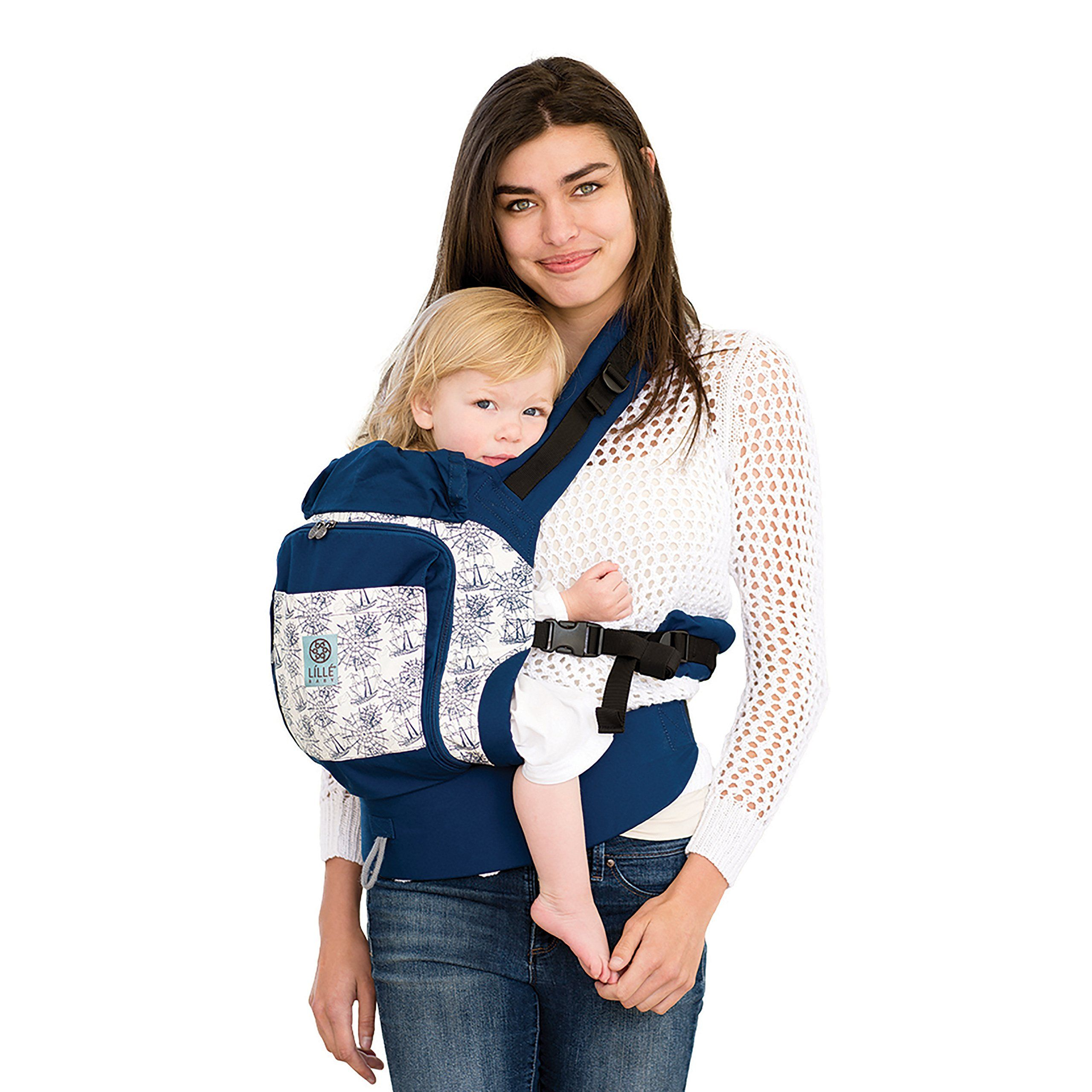 6017df1e456 LILLEbaby 4 in 1 ESSENTIALS All Seasons Baby Carrier Seven Seas     Want  additional info  Click on the image.-It is an affiliate link to Amazon.