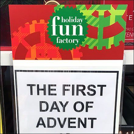 Advent Merchandising At Bed Bath Beyond | Christmas and Hanukkah ...
