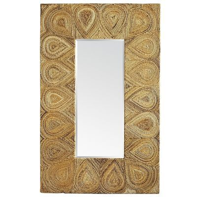 Banana Bark Floor Mirror - Love the variations in color of the ...