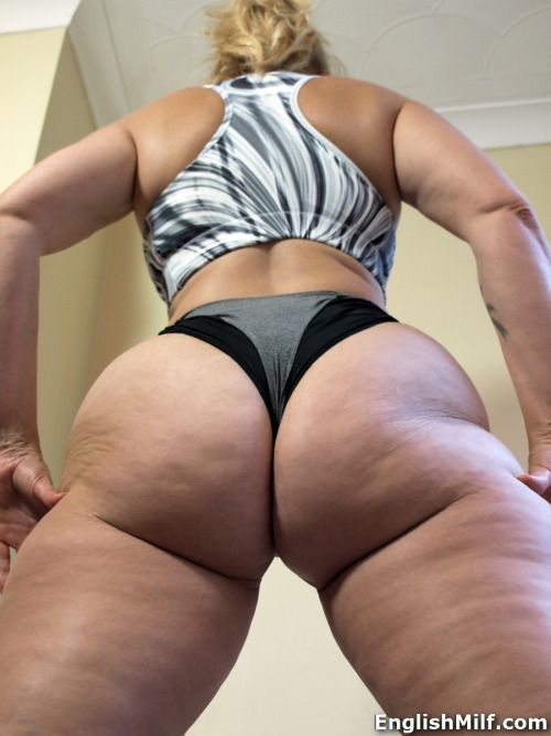 Big ass english milf