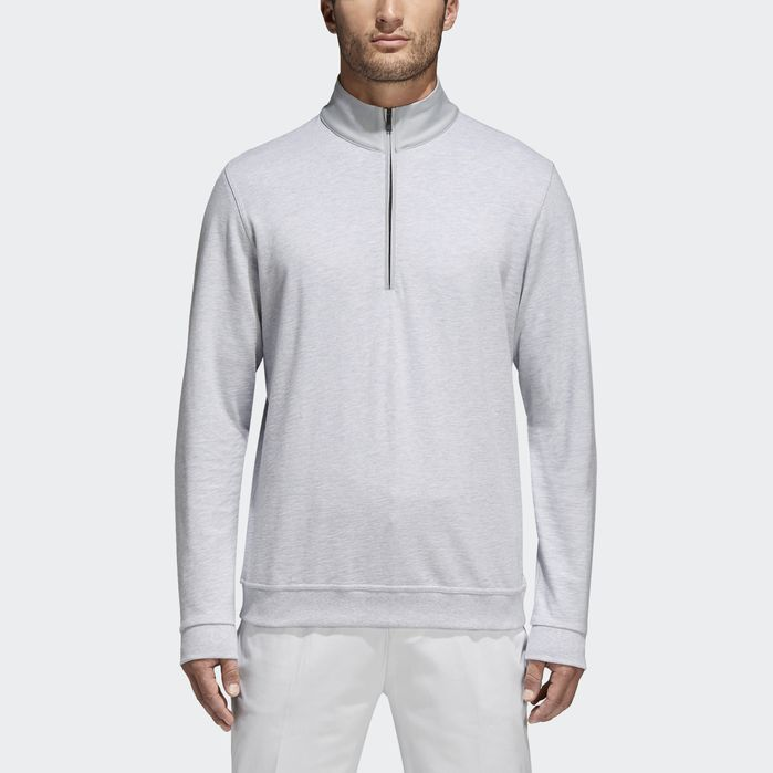 efb0aa1423 Adipure French Terry Sweatshirt Grey L Mens | Products in 2019 ...