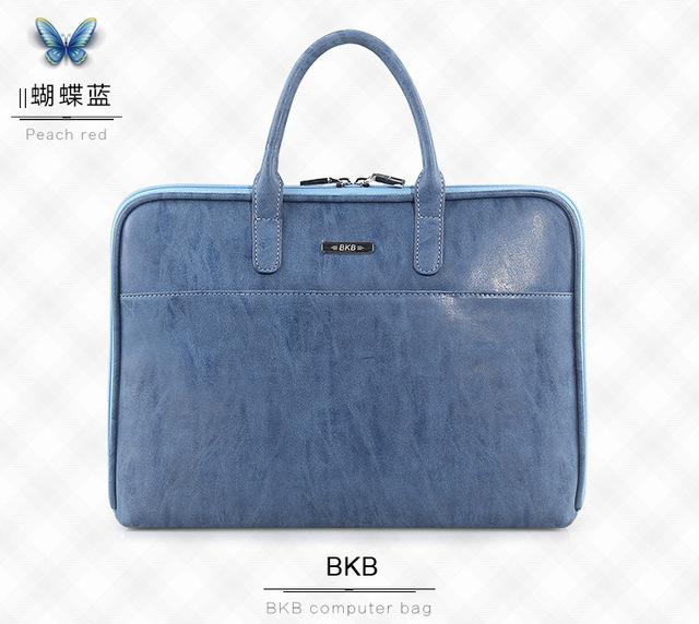 Oil Max Style Minimalist 11 13 15 inch Laptop Bag OL Lady Business Briefcase Notebook Handbag for Macbook Air Pro Lenovo HP