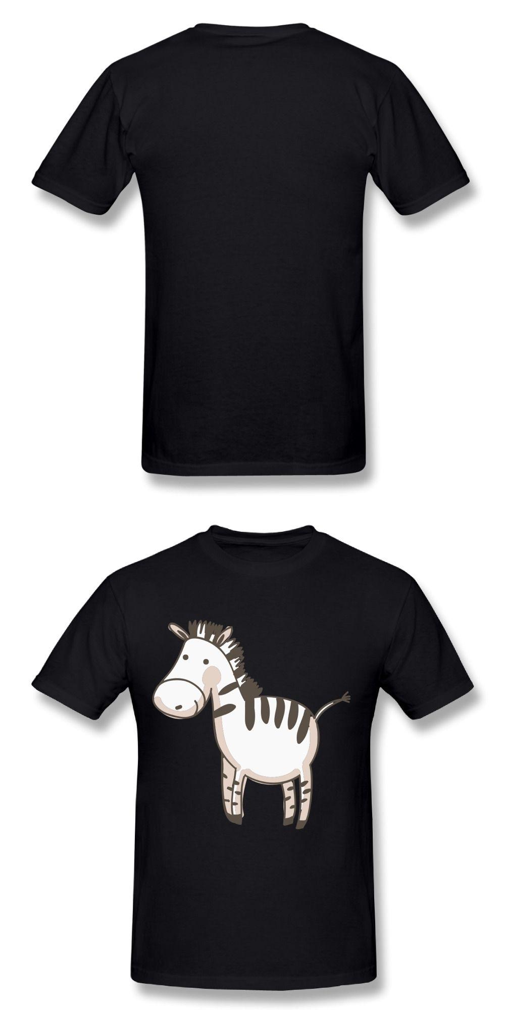 4585b910d35 Men T Shirt 3D Men Cute Zebra T-shirt Workout Novelty Men Shirt Tshirts Mens