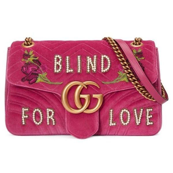 2d074423395 Women s Gucci Gg Marmont 2.0 Imitation Pearl Embellished Velvet... ( 2