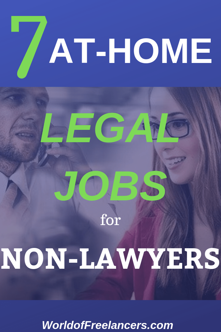 Work At Home Legal Jobs For Non Lawyers Working From Home Work From Home Jobs Job