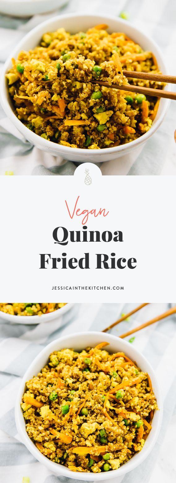Photo of Vegan Quinoa Fried Rice