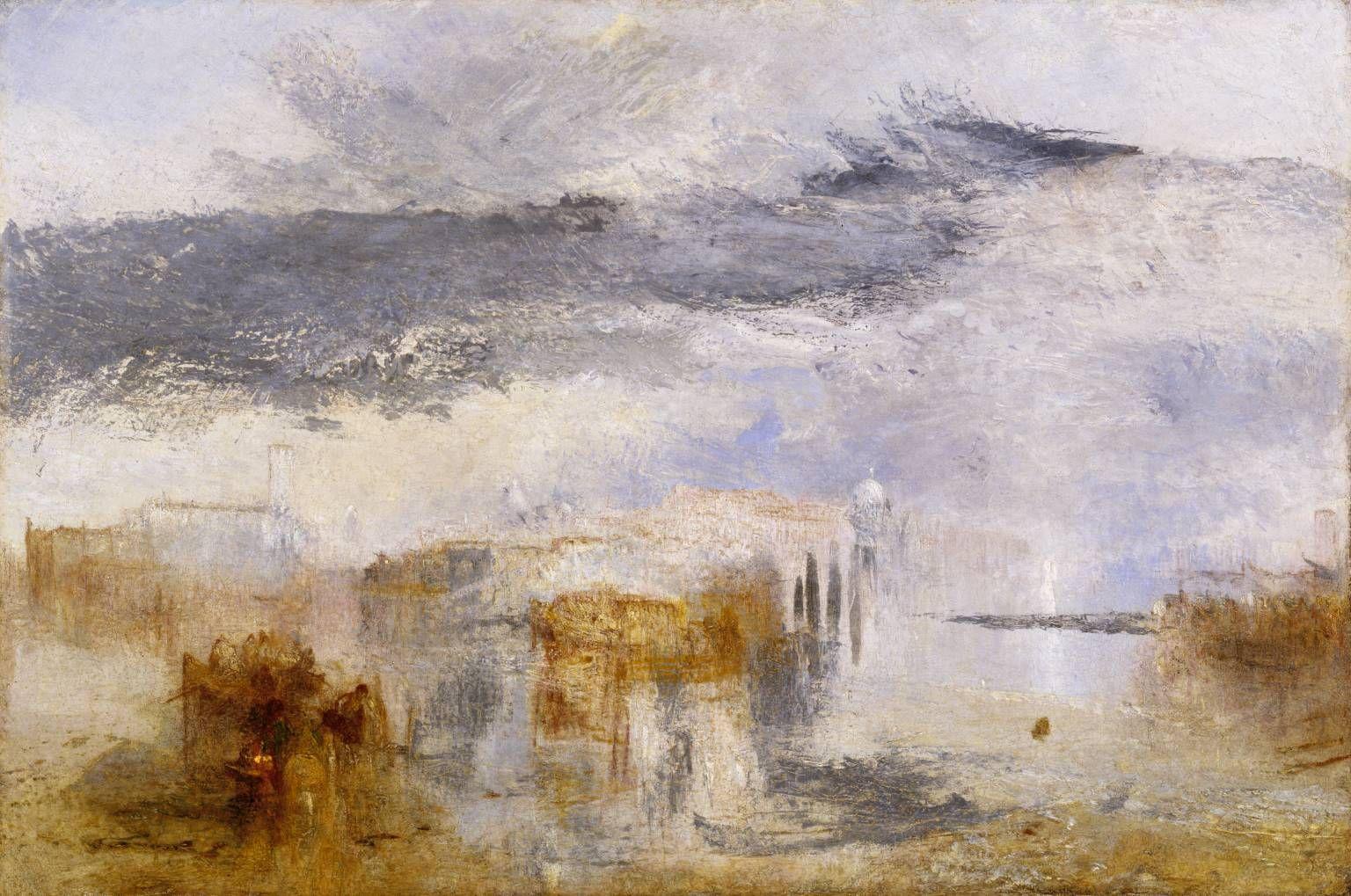 Joseph Mallord William Turner 1775 1851 Venice Sunset A
