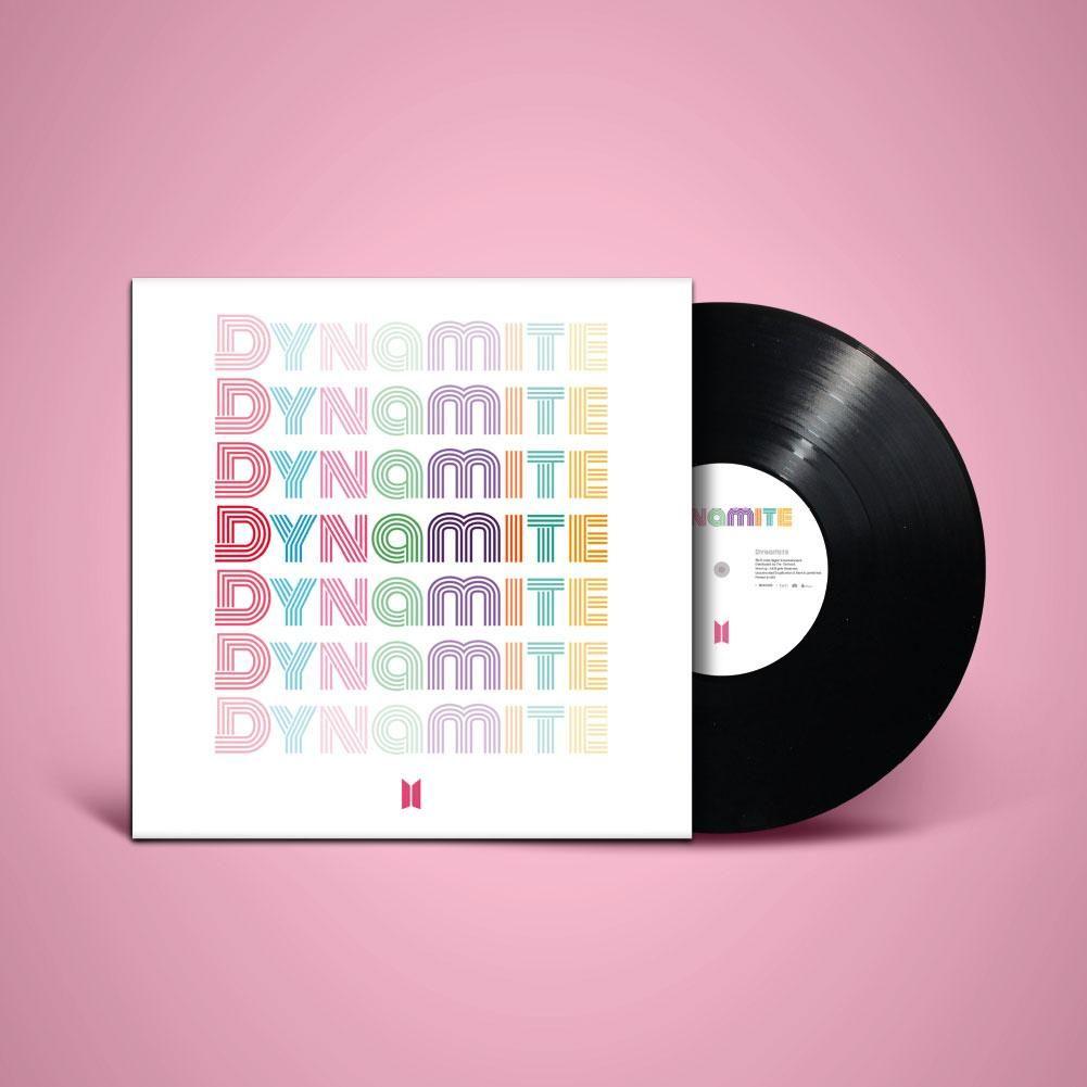 Dynamite Limited Edition 7 Vinyl In 2020 Bts Official Merch Album Bts Dynamite