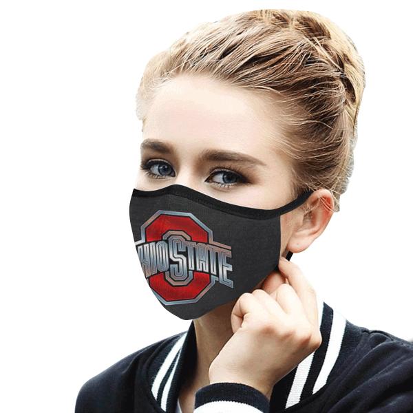 Ohio State Buckeyes Face Mask - cheerlis