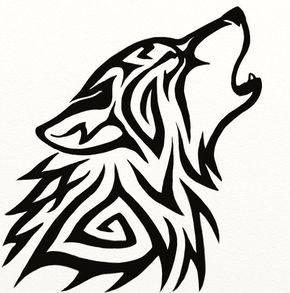 Easy Tribal Wolf Drawings A Hero Is One Who Knows How To Hang On One