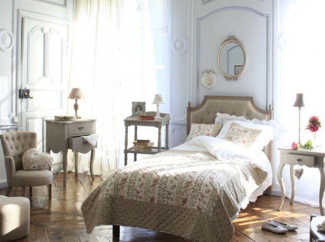 Chambre style gustavien meubles romantiques | style chambre parent ...