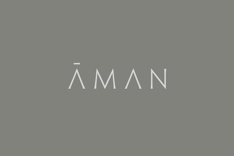 New Brand Identity For Aman By Construct Bp O Hotel Logo Design Logotype Typography Luxury Brand Logo
