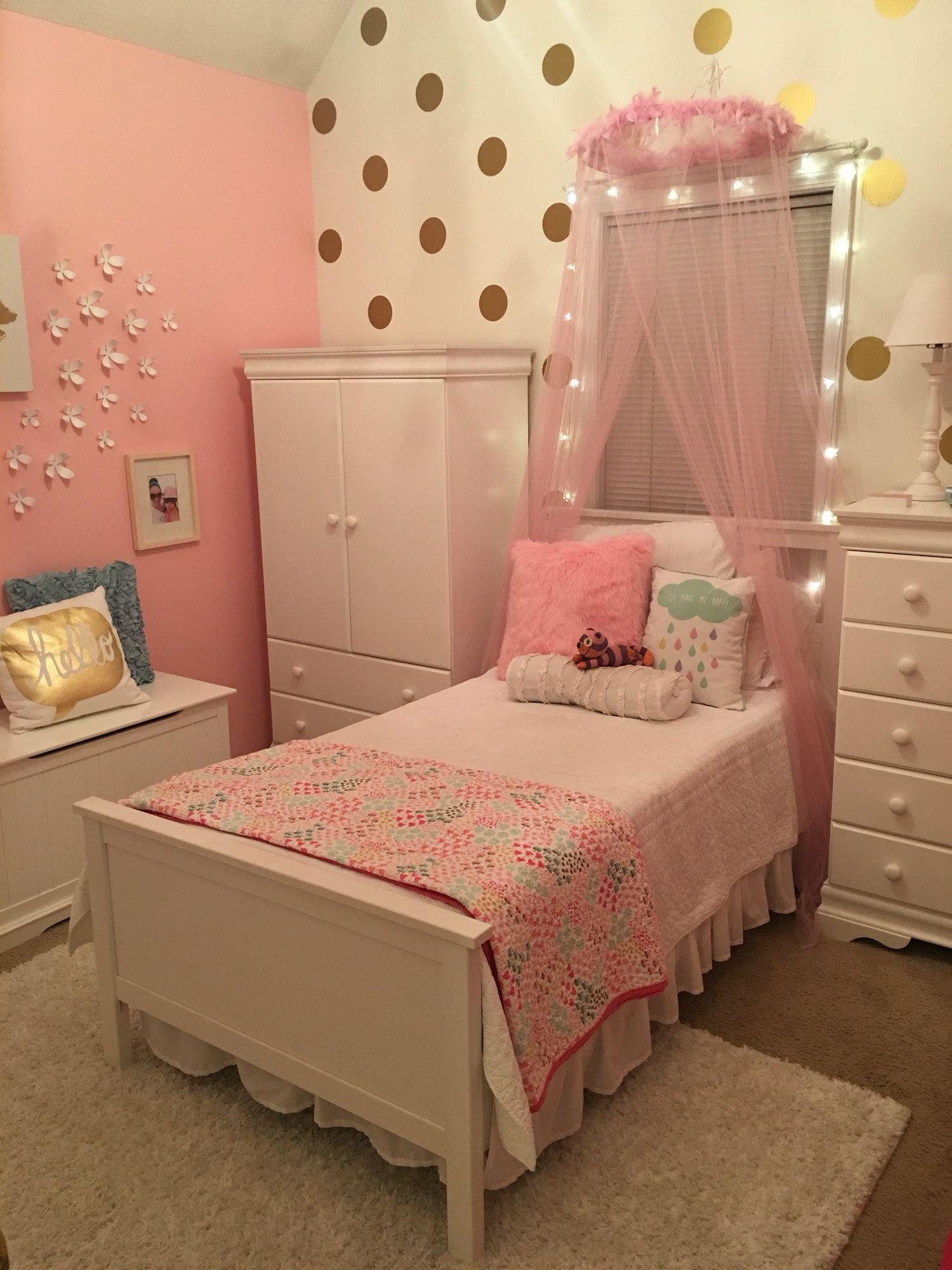 Pink girly girl room   Girl room, Kids bedroom, Home decor