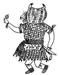 Sketch Of Kachina Native American Kachina Dolls Native American