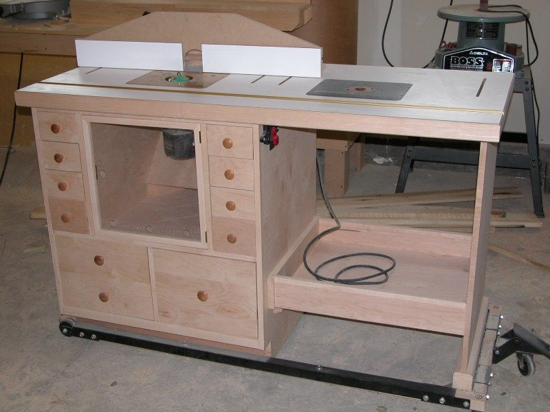 Plans for a router table 3 woodworking pinterest router table plans for a router table 3 keyboard keysfo Images