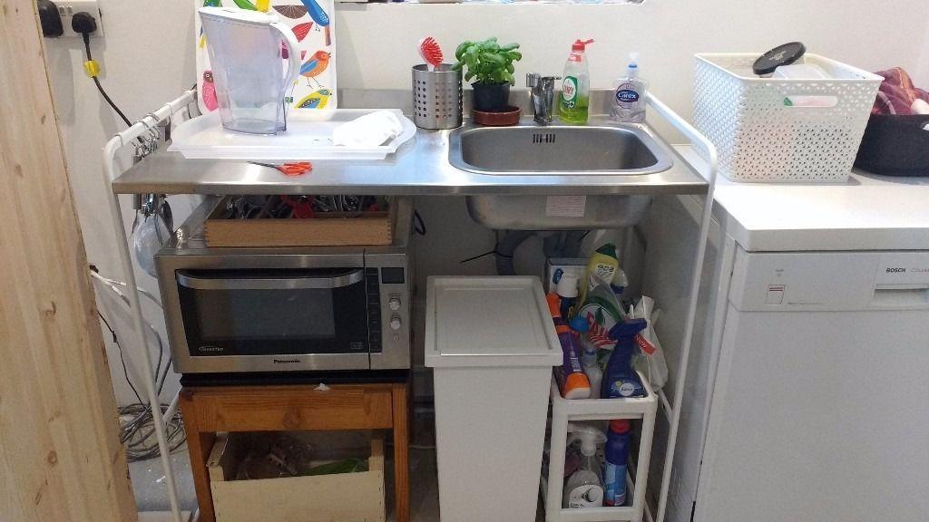 Ikea Sunnersta Mini Kitchen Sink Unit In Easton Bristol