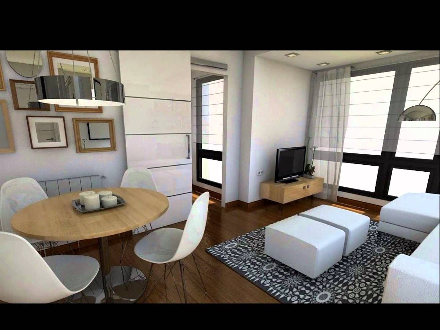 Dise o interior apartamento 40 m2 decoracion for Diseno departamento pequeno