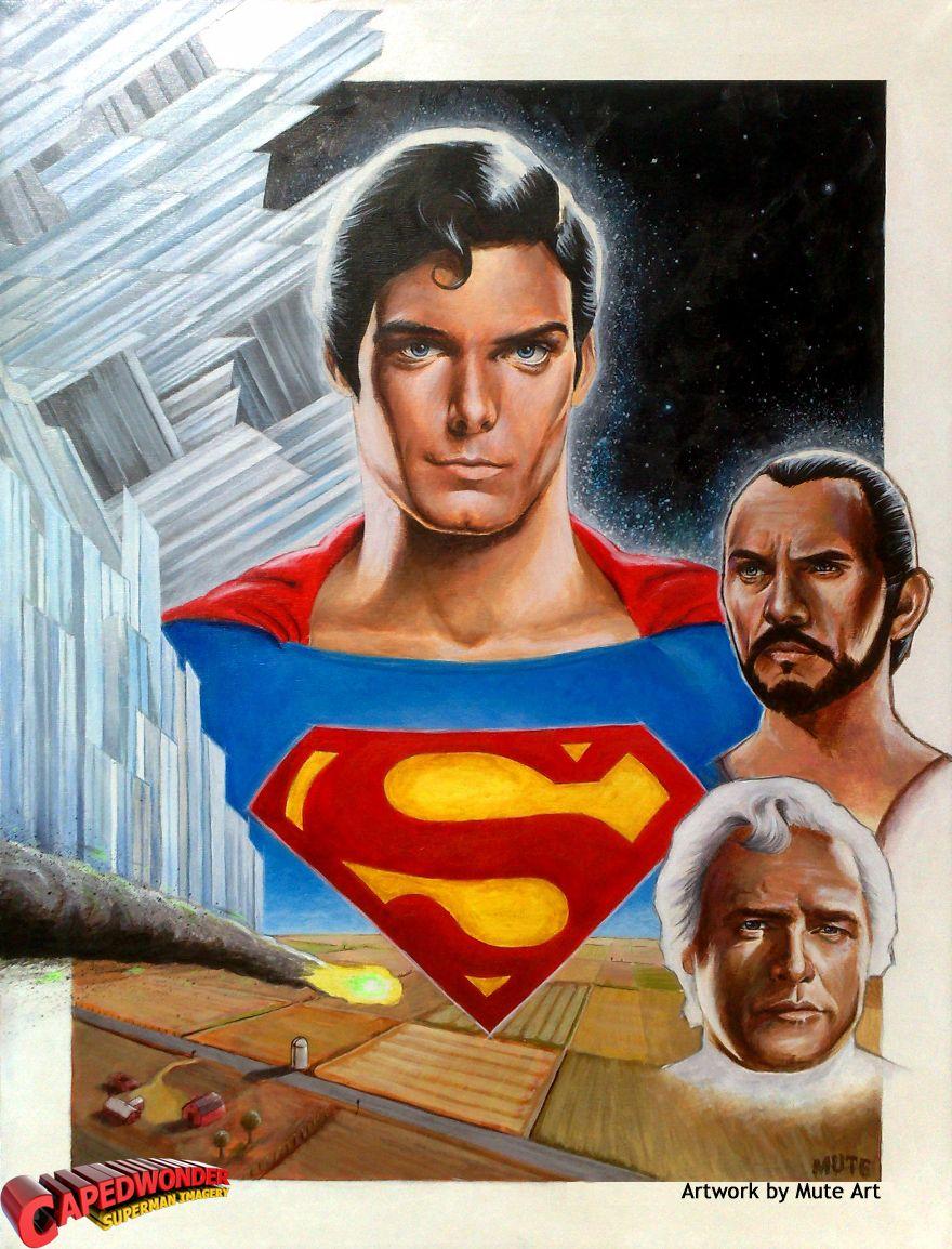 Superman 1978 Superman Movies Batman And Superman Dc Comics Superheroes