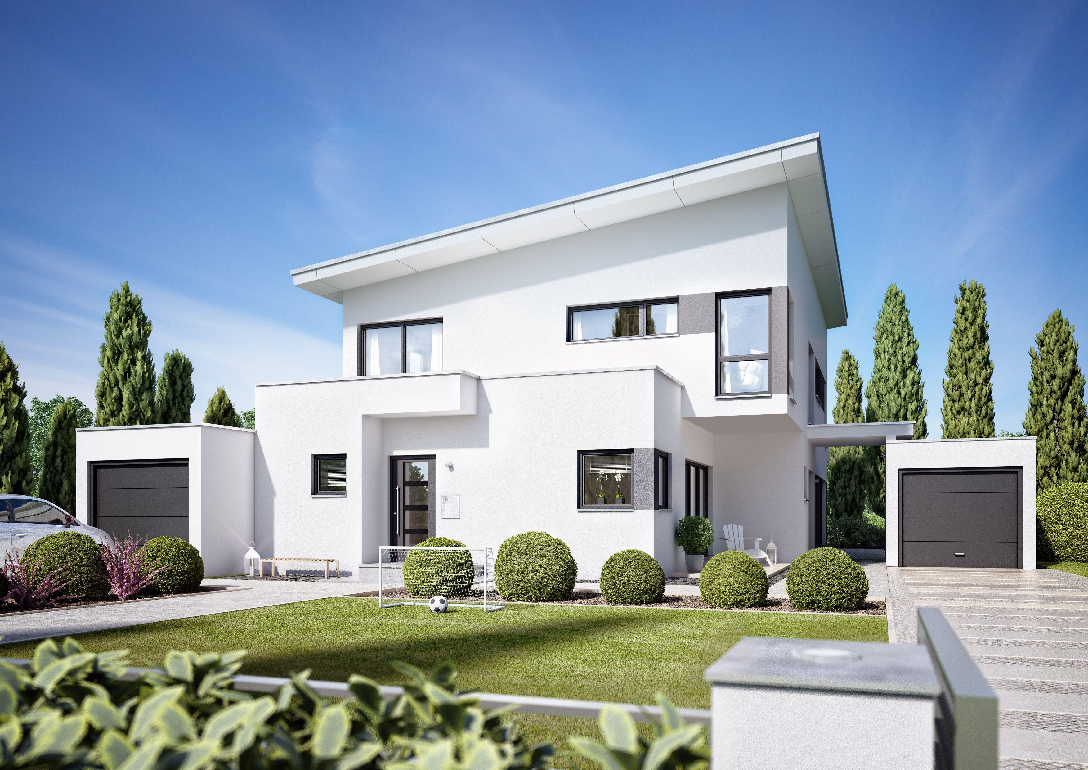 architekten haus corradino elegante familienvilla mit einliegerwohnung architektenh user. Black Bedroom Furniture Sets. Home Design Ideas