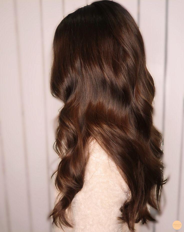 Am günstigsten aussehende Haarfarbe Luxuriöses Schokoladenbraun! # – Blogger