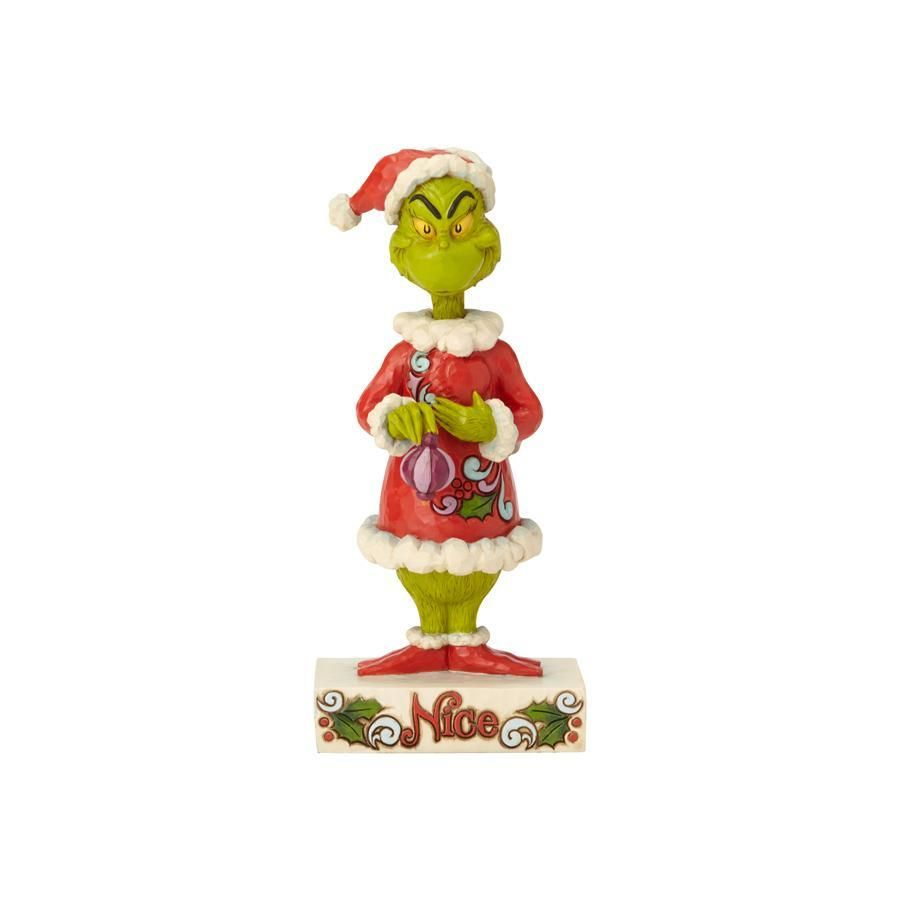 Department 56 By Jim Shore Two Side Naughty Nice Grinch 6002068 Jim Shore Grinch Christmas Characters