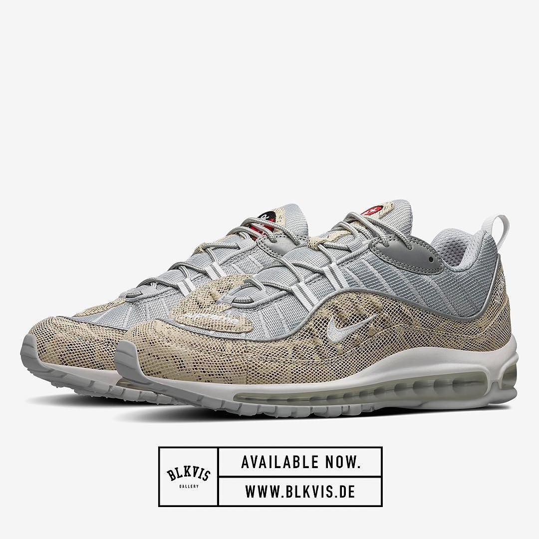 nike air max 98 white and gold