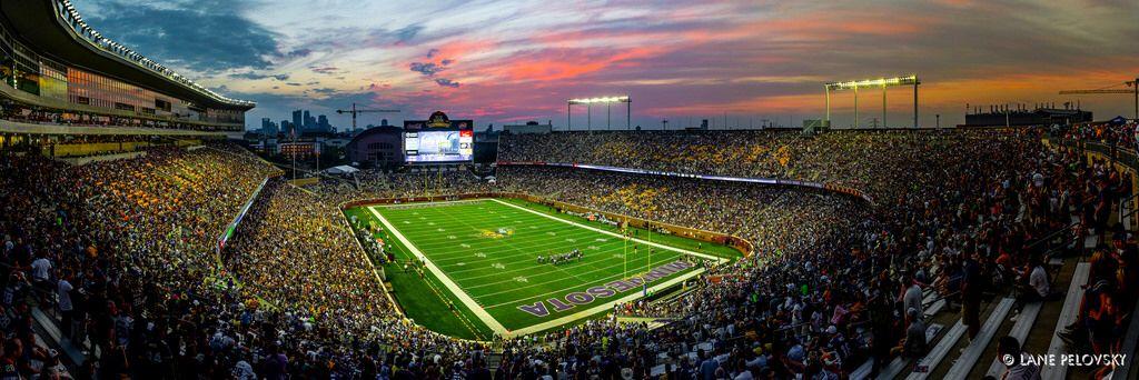 Vikings Football Game 2015 At The Tcf Stadium University Of
