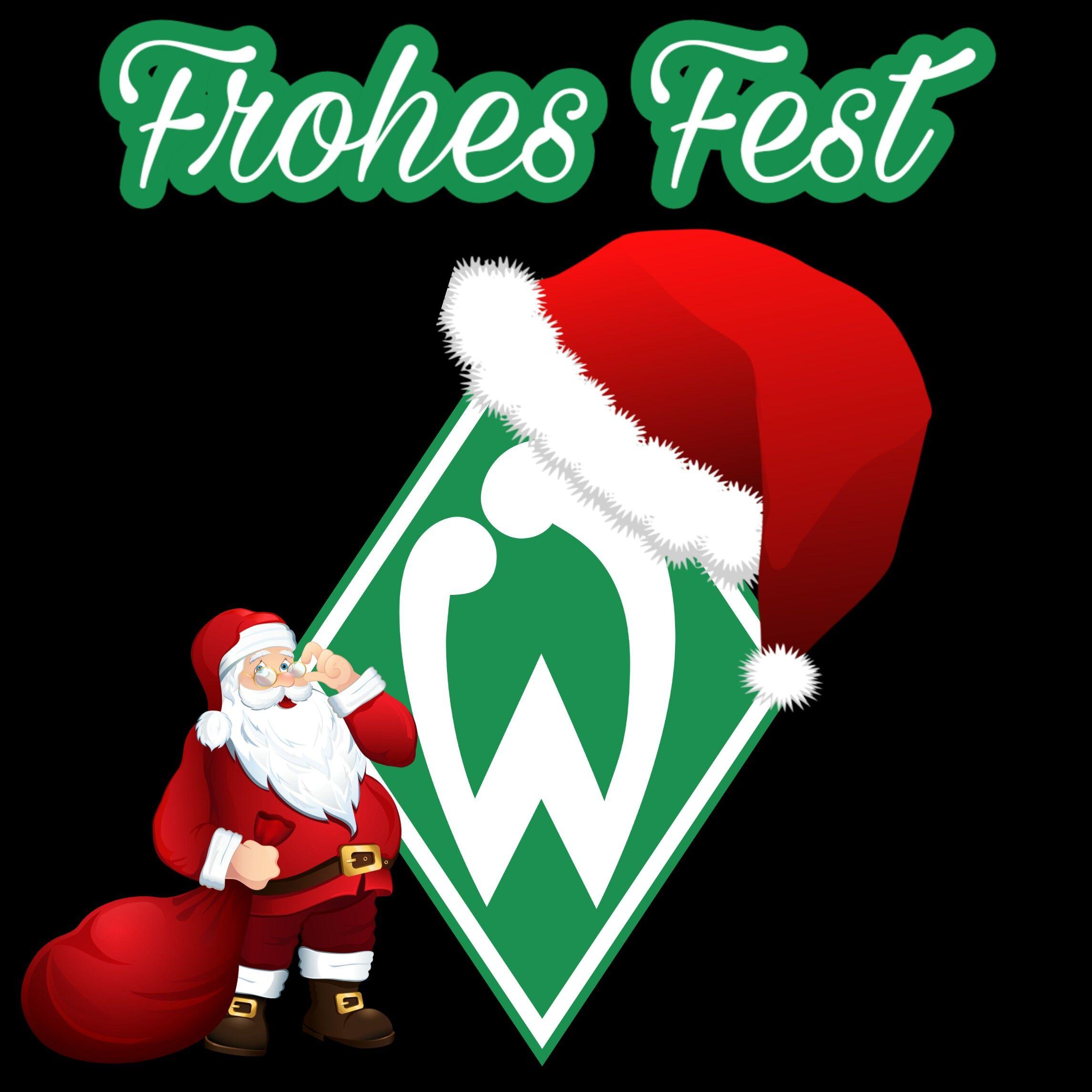 Frohe Weihnachten Werder Bremen.Pin Von Arthaes Consencianii Auf Bundesliga Werder Bremen