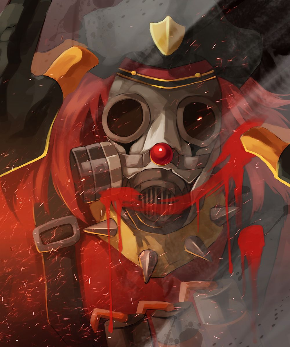 #TF2 Smiling #Pyro By Biggreenpepper.deviantart.com On