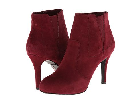 Rockport Seven To 7 95mm Gore Shootie Windsor Wine Suede - Zappos.com Free  Shipping