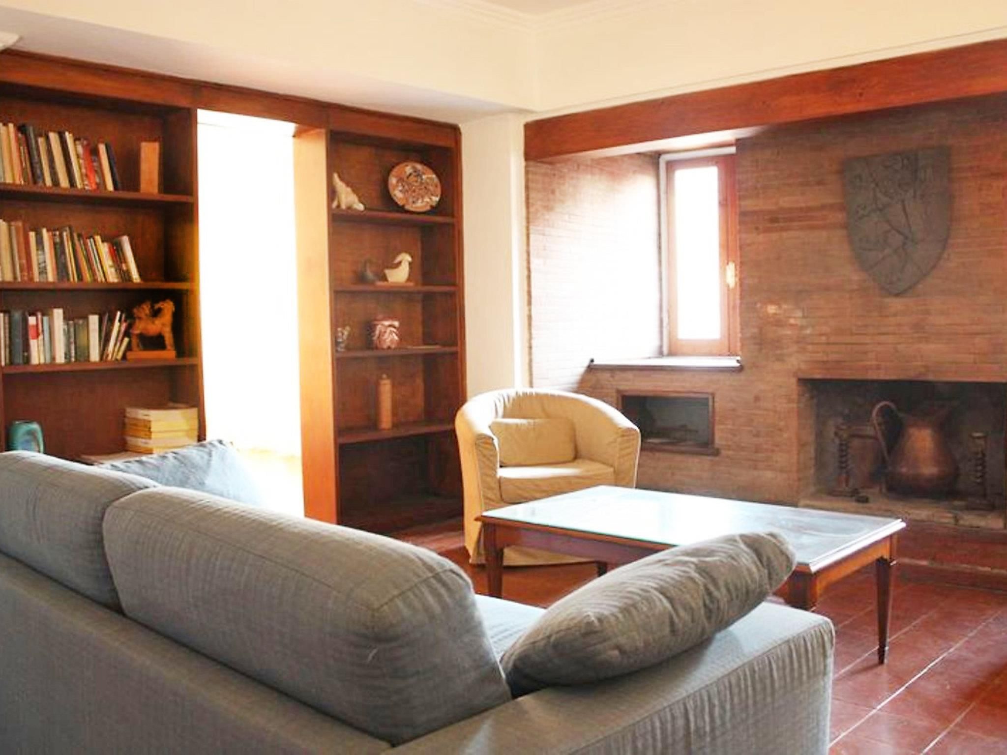 Rome Giulia View 2 Bedroom Apartment Italy, Europe Giulia View 2 Bedroom Apartment is conveniently located in the popular Navona area. The hotel offers guests a range of services and amenities designed to provide comfort and convenience. Facilities like family room, elevator are readily available for you to enjoy. Sofa, air conditioning, heating, balcony/terrace, television can be found in selected guestrooms. The hotel offers various recreational opportunities. For reliable s...