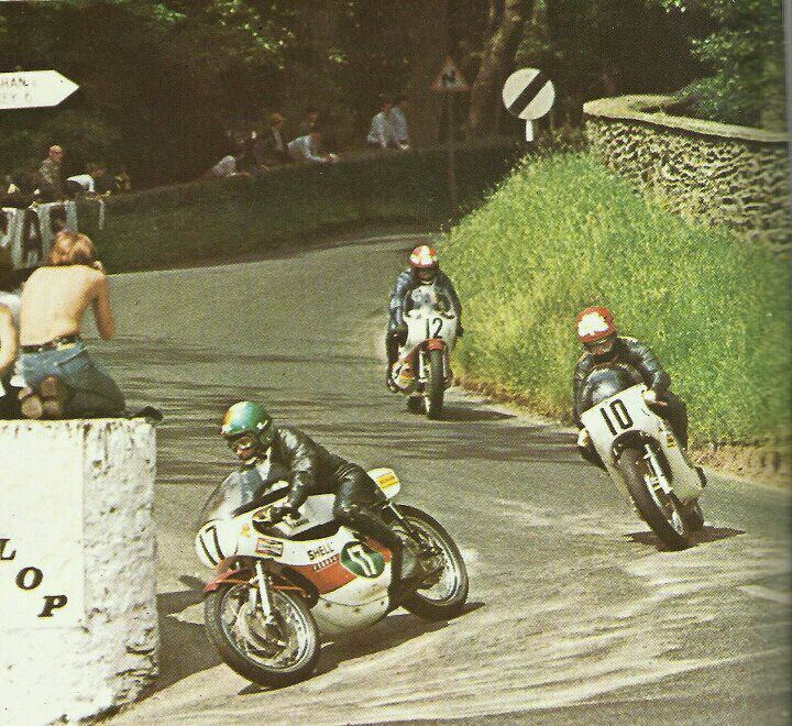 kel carruthers santiago herrero rod gould isle of man tourist trophy 1970 vintage. Black Bedroom Furniture Sets. Home Design Ideas