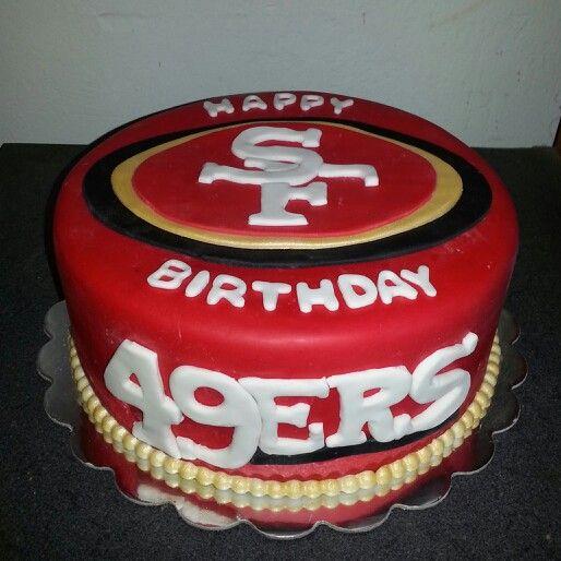 49ers Cake By @Soveida Estrada Estrada Alvarez