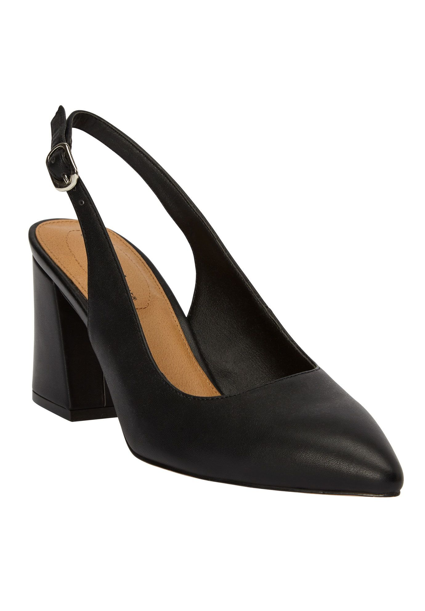 c72995fc527 The Liberty Slingback Pump by Comfortview - Women s Plus Size Clothing