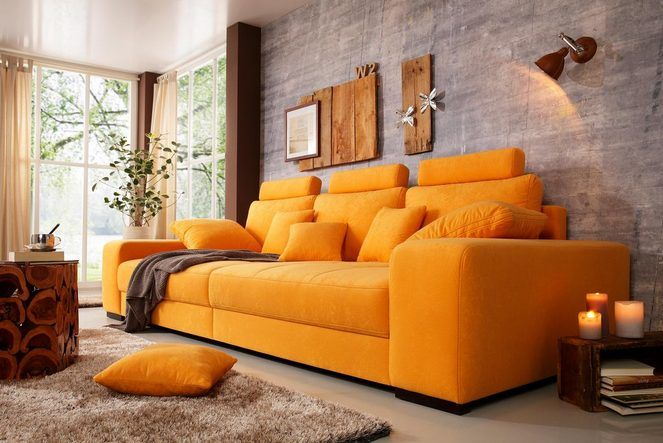 Premium collection by Home affaire Big-Sofa mit Boxspringfederung ...