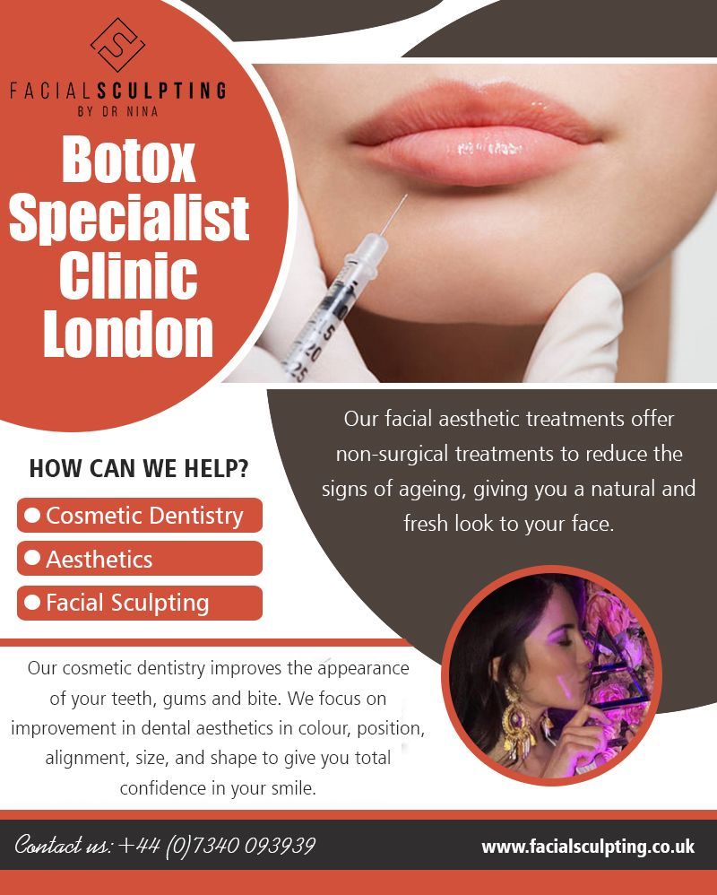 Botox Specialist Clinic in London treatments to smooth and