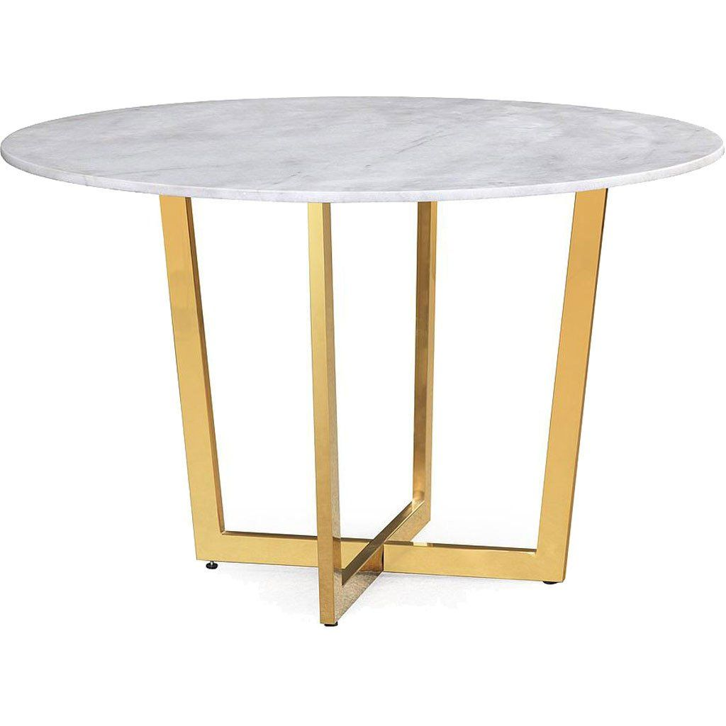 33++ Small round marble dining table Trend