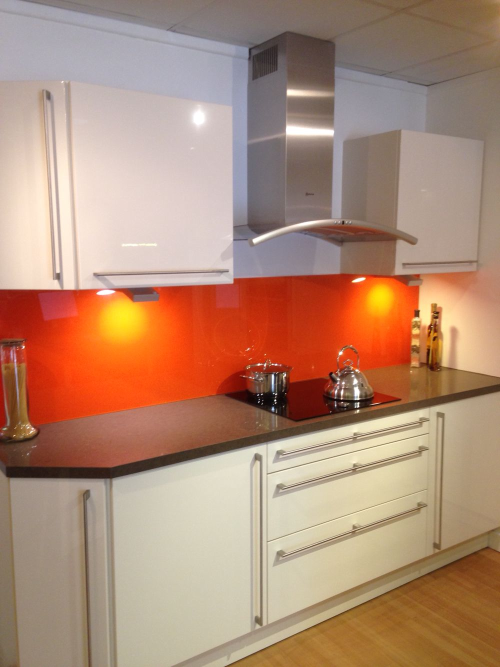 An Example Of Our Beautiful Callar Kitchen Complete With A NEFF Point And  Twist Induction Hob